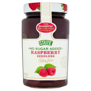 Stute No Added Sugar Diabetic Seedless Raspberry Extra Jam 430g