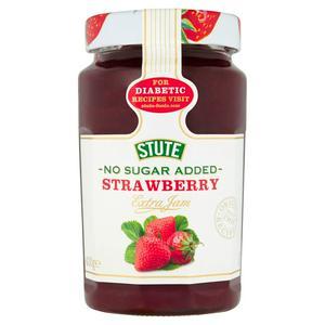 Stute No Sugar Added Diabetic Strawberry Extra Jam 430g