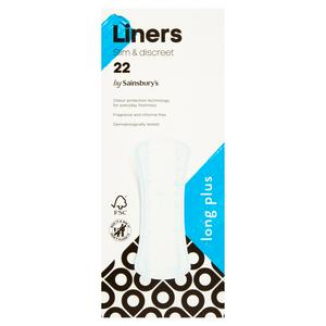 Sainsbury's Extra Long Liners x22