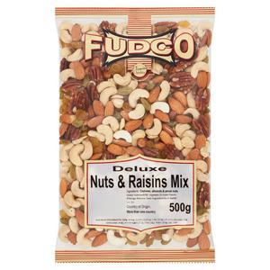 Fudco Deluxe Nuts & Raisins Mix 500g
