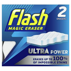 Flash Magic Eraser Extra Power Cleaner x2