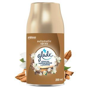 Glade Automatic Refill Spray, Bali & Sandalwood & Jasmine 269ml