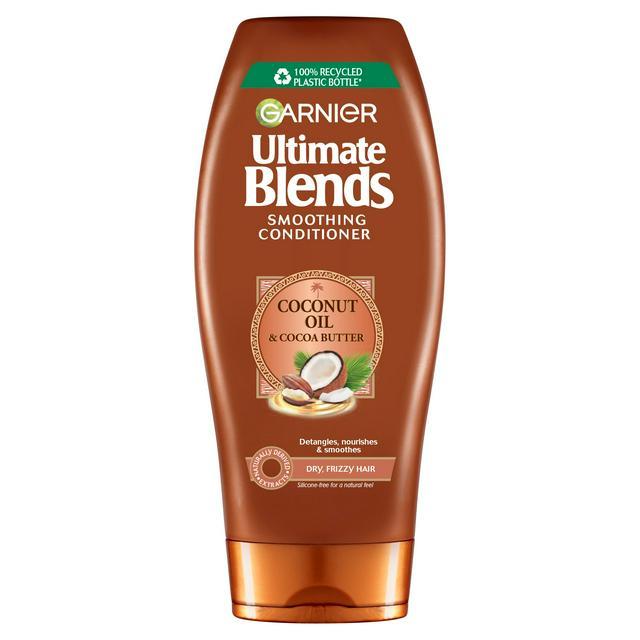 Garnier Ultimate Blends Coconut Oil Frizzy Vegan Hair Conditioner 360ml Sainsbury S