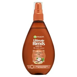 Garnier Ultimate Blends Coconut Vegan Hair Oil for Frizzy Hair 150ml