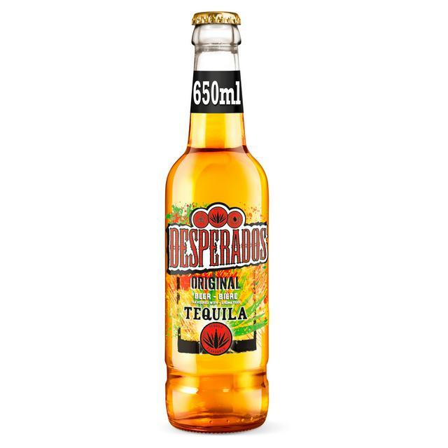 Desperados Tequila Lager Beer Bottle 650ml Sainsbury S