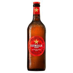 Estrella Damm Lager Beer Bottle 660ml