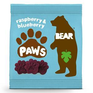 BEAR PAWS Fruit Shapes Raspberry & Blueberry 20g