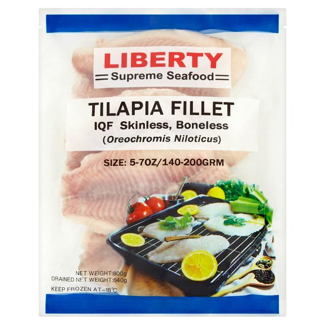 Liberty Tilapia Fillets 800g Sainsbury S