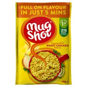Mug Shot Pasta Roast Chicken Soup 55g