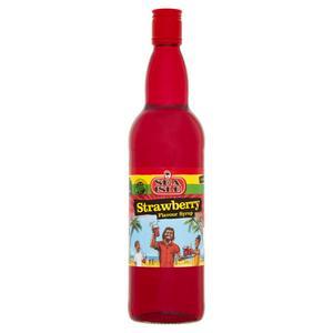 Sea Isle Strawberry Flavour Syrup 750ml (Sugar levy applied)