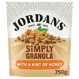 Jordans Crunchy Oat Granola, Simply Granola 750g