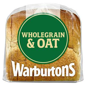 Warburtons Premium Wholegrain & Oat Bread 400g