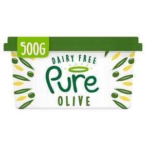 Pure Dairy Free Vegan Olive Spread 500g