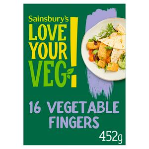 Sainsbury's Vegetable Fingers x16 452g