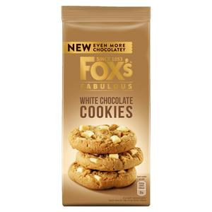 Fox's Chunkie Cookies White Chocolate Chunks 180g