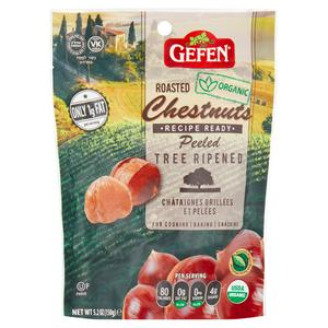 Gefen Whole Chestnuts Roasted and Peeled 150g