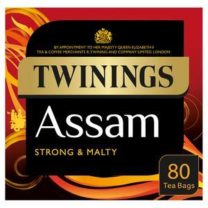 Twinings Assam Tea, 80 Tea Bags