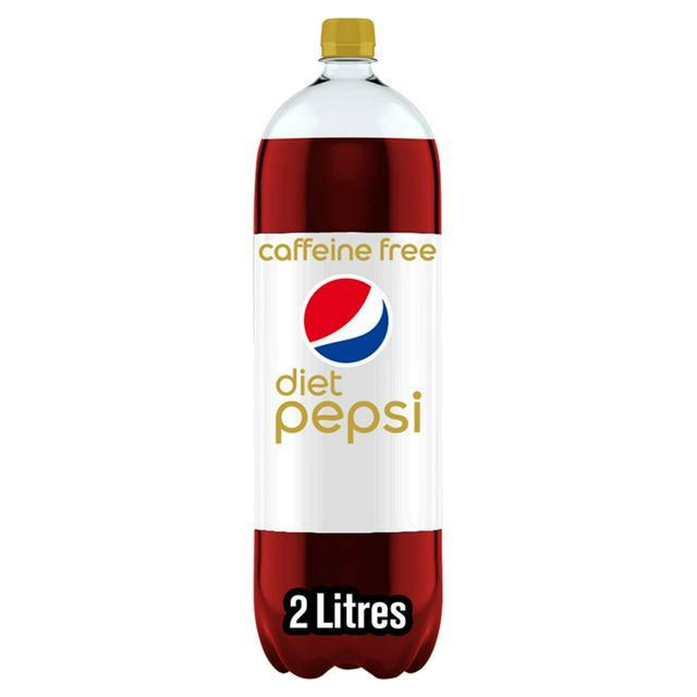diet caffeine free pepsi 2 liter