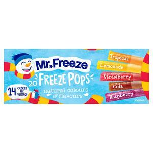 Calypso Mr Freeze Ice Pops 20x45ml