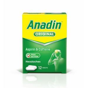 Anadin Original x12 325mg