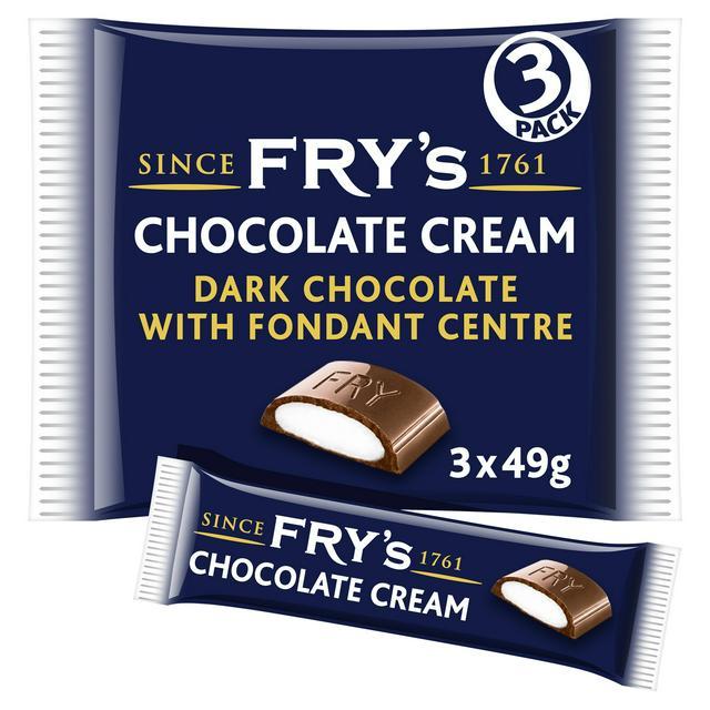 Fry's Chocolate Cream Multipack x3 147g