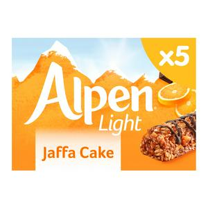 Alpen Light Jaffa Cake Bars 5x19g