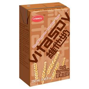 Vitasoy Malted Soybean Drink 250ml (Sugar levy applied)