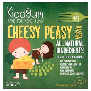 Kiddyum Kids' Ready Meal Cheesy Peasy Pasta 200g