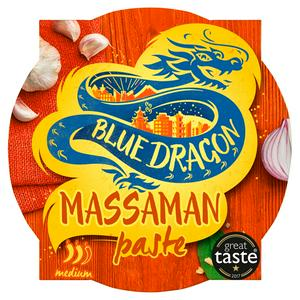 Blue Dragon Thai Massaman Curry Paste Pot 50g