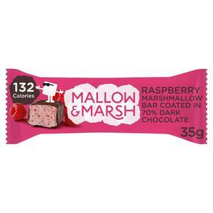 Mallow & Marsh Raspberry Marshmallow Bar 35g