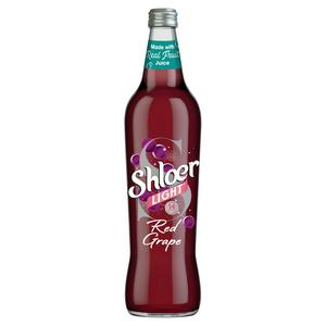 Shloer Light Red Grape Sparkling Juice Drink 750ml