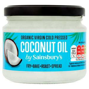 Sainsbury's Organic Virgin Coconut Oil 300ml