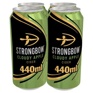 Strongbow Cloudy Apple Cider 440ml Can