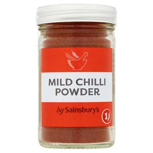 Sainsbury's Mild Chilli Powder 44g