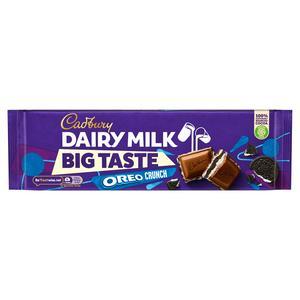 Cadbury Dairy Milk Big Taste Oreo Chocolate Bar 300g