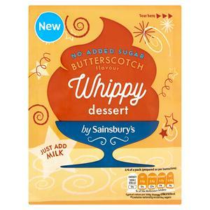 Sainsbury's Butterscotch Whippy Dessert 49g