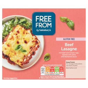 Sainsbury's Deliciously Free From Beef Lasagne 400g