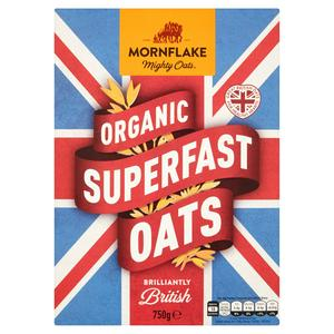 Mornflake Oats Organic 750g