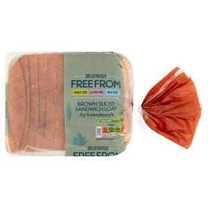 Sainsbury's Deliciously Free From Gluten Free Brown Bread 535g