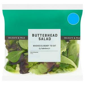 Sainsbury's Butterhead Salad 80g