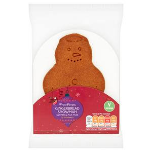Sainsbury's Deliciously Free From Gingerbread Man 32g