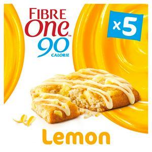 SAINSBURYS > Food Cupboard > Fibre One 90 Calorie Lemon Drizzle Bars 5x24g