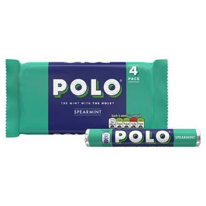 Polo Spearmint Mints 4x34g