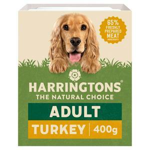 Harringtons Grain Free Turkey & Veg Complete Adult Dog Food 400g