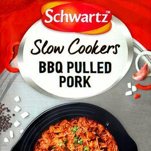 Schwartz Slow Cookers BBQ Pulled Pork Mix 35g
