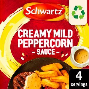 Schwartz Mild Creamy Peppercorn Sauce Mix 25g