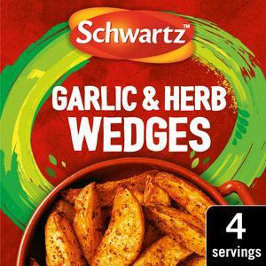 Schwartz Garlic Herb Wedges Mix 38g