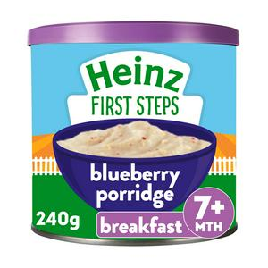 Heinz Blueberry Oaty Porridge 240g 7 Month+
