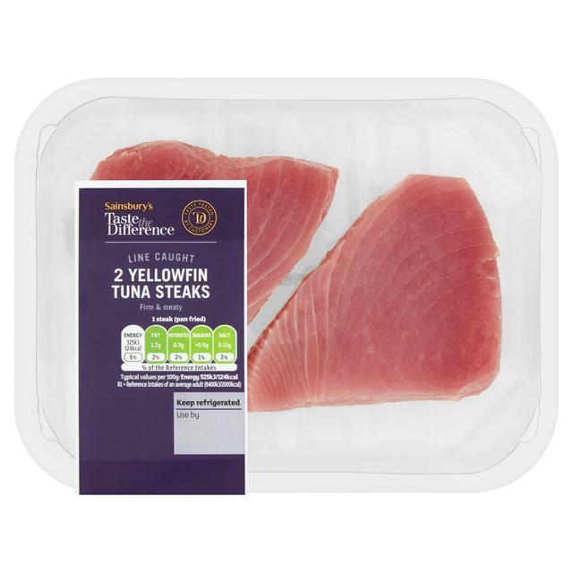 Sainsbury S Tuna Steaks Taste The Difference X2 240g Sainsbury S