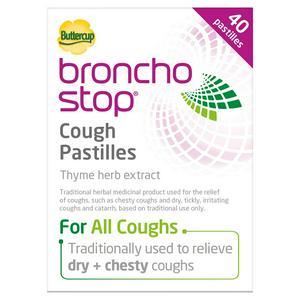 Bronchostop Buttercup Cough Pastilles x40